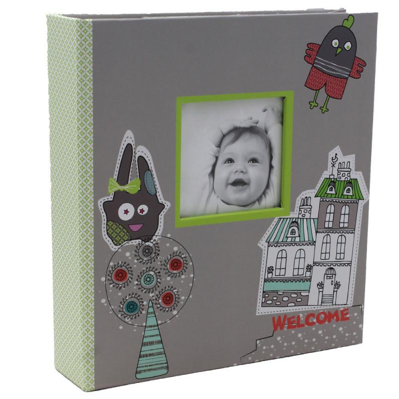 Album photo Tendresse Bienvenue 200 pochettes11,5x15