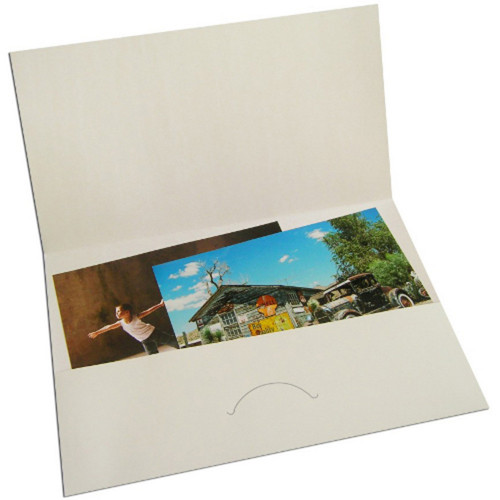 50 pochettes agrandissements 30x45 blanches