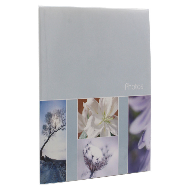 Lot de 6 mini albums photo Pastel 36 pochettes 15x21