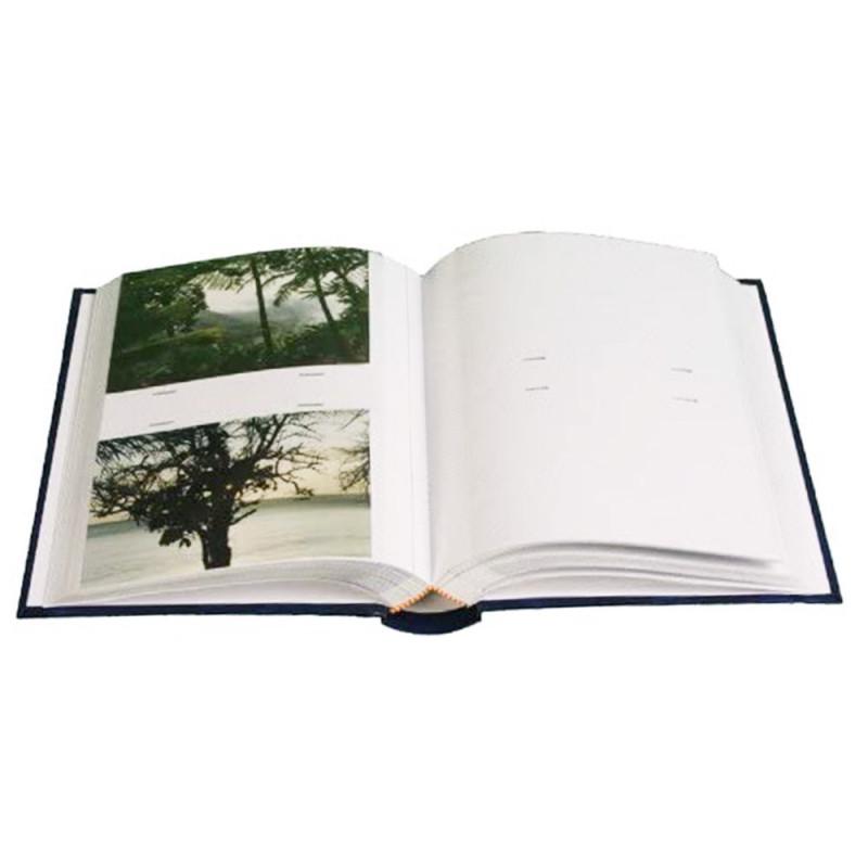 Lot de 3 Albums photo à pochettes Marbré vert pour 200 photos 11x15