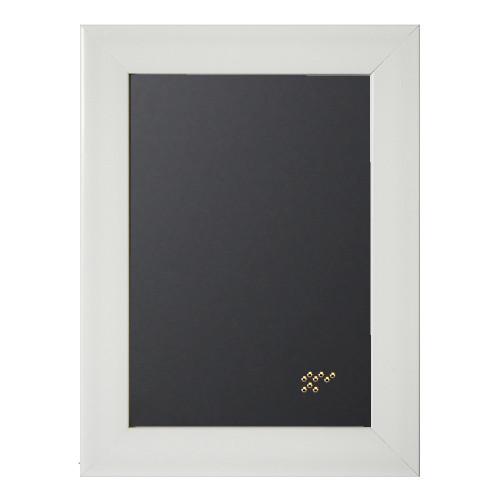 Pêle-mêle magnétique Gala blanc 40x50 en bois fond noir