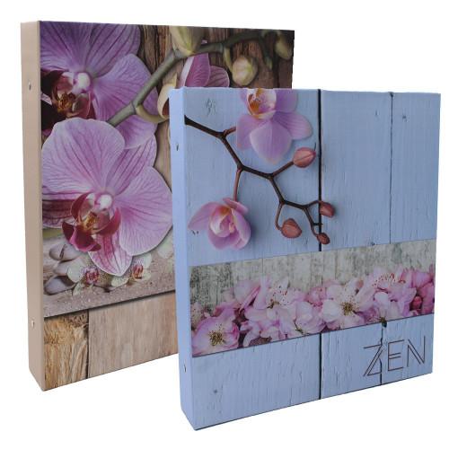 Lot de 2 classeurs photo Zen 400 pochettes 11x15