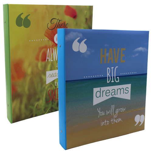 Lot de 2 classeurs photo à pochettes Always Dreams pour 400 photos 11x15