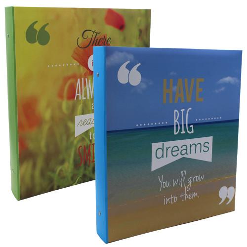 Lot de 2 classeurs photo 400 pochettes 11x15 Always Dreams