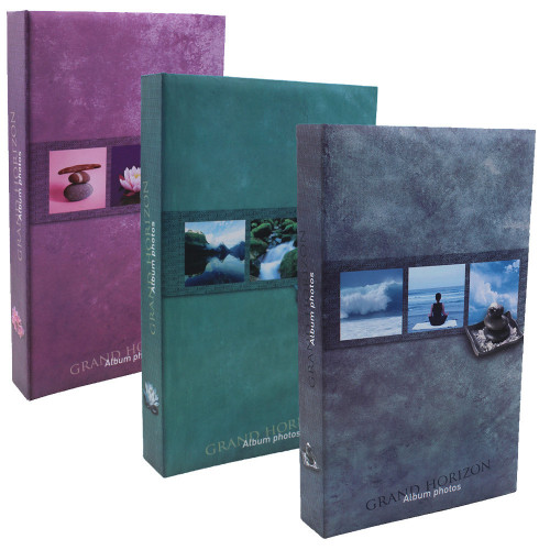 Lot de 3 albums photo Grand Horizon 300 pochettes 11X15