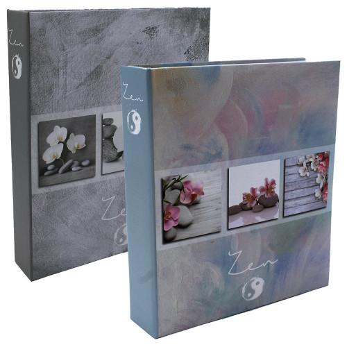 Lot de 2 albums photo Soft Zen 200 pochettes 11X15