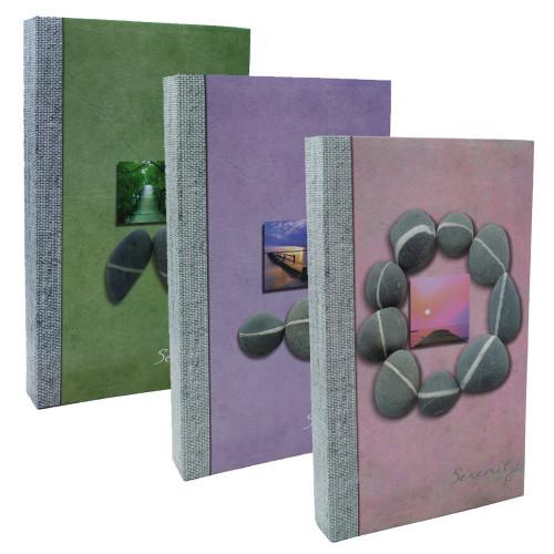 Lot de 3 albums photo Serenity 300 pochettes 11X15