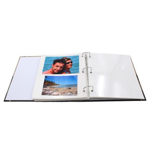 Classeur photo autocollant Voyage pour 200 photos 10x15, 11x15 ou 13x18