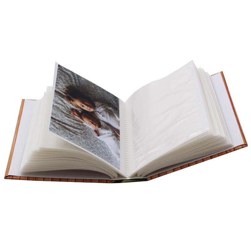 Coffret de 3 albums photo Bambous 80 pochettes 10x15