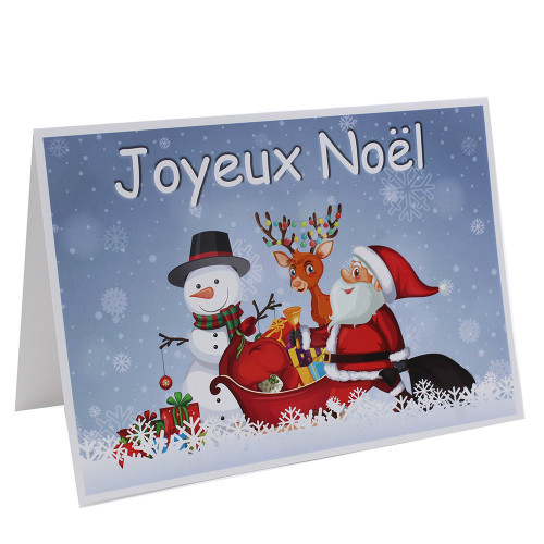 Cartonnage photo - 20x30 - Joyeux Noel Traineau