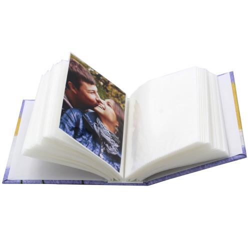 Mini album photo Tulipe BL 100 pochettes 10X15