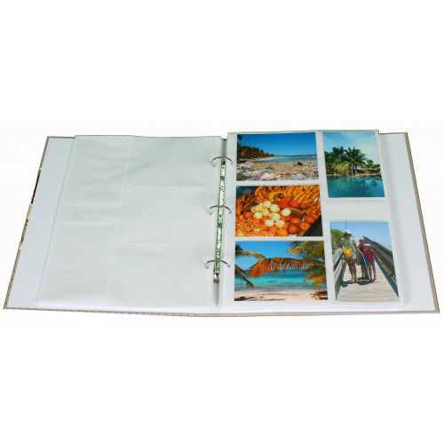 Classeur photo Zen BL 400 pochettes 11x15