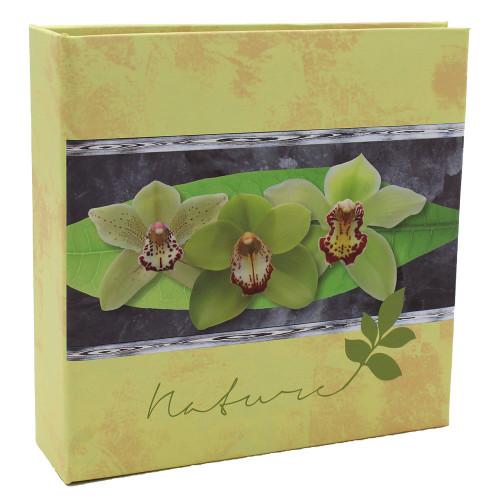 Album photo Naturel jaune 100 pochettes 11X15
