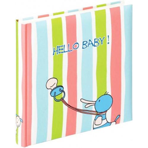 Album bébé traditionnel Hello Baby