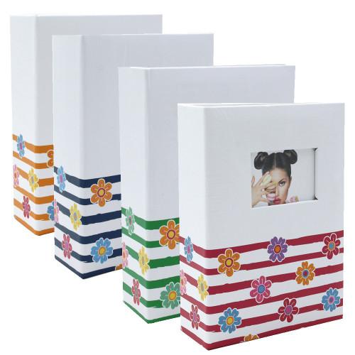 lot de 4 mini albums Shinig Flowers 100 pochettes 10x15