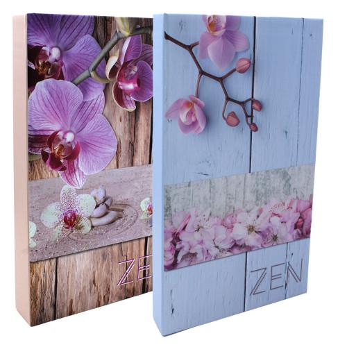 Lot de 2 albums photo à pochettes Zen pour 300 photos 11x15