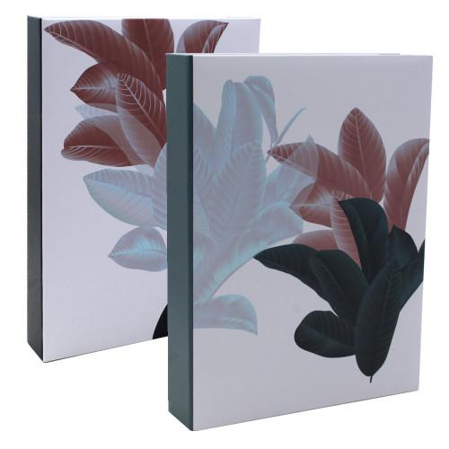 Lot 2 albums photo Beautiful Flowers foncés 200 pochettes 13x18