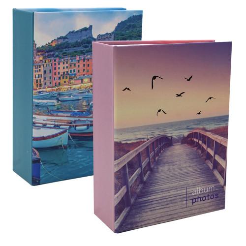 Lot 2 albums photo Pastel Mer 100 pochettes 10X15