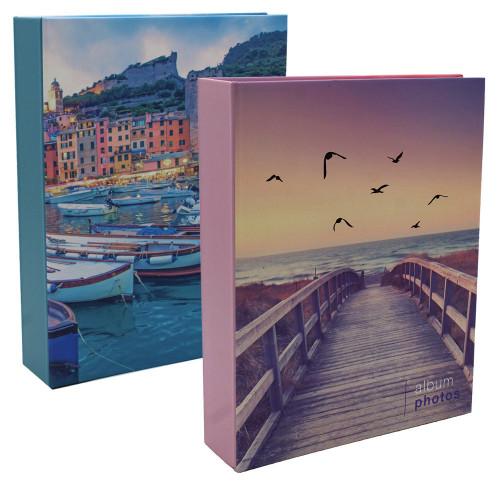 Lot 2 albums photo Pastel Mer 200 pochettes 13x18