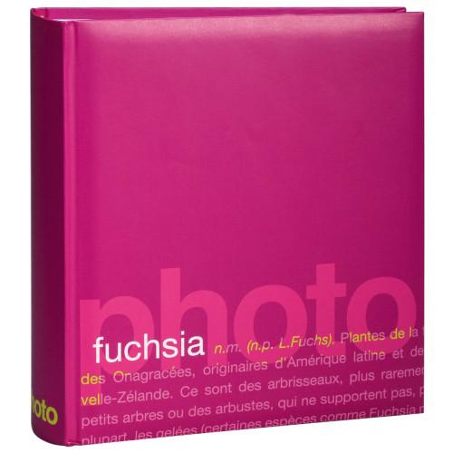 album words fushia 200 pochettes 11,5x15