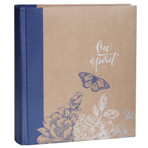 Album kraftty 2 Bleu marine 500 pochettes 11,5x15