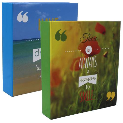 Lot de 2 albums photo Always Dreams 200 pochettes 11x15