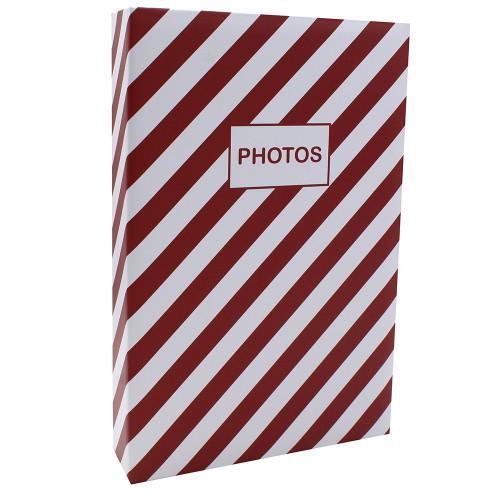 Album photo Mstream Rouge 402 pochettes 10X15