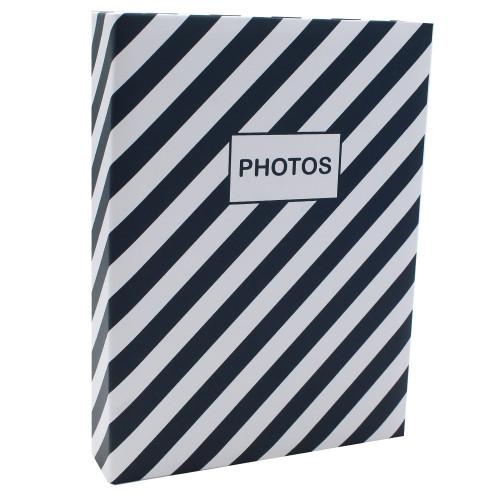 Album photo Mstream 200 pochettes 10X15 - Bleu marine