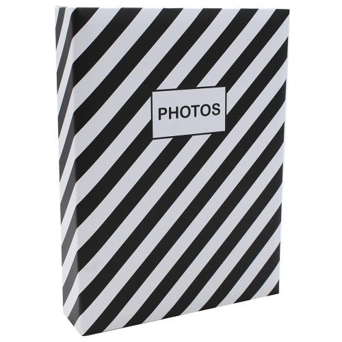 Album photo Mstream 200 pochettes 10X15 - Noir