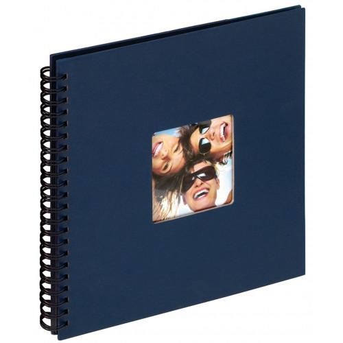 Album Fun bleu traditionnel à spirales 200 photos