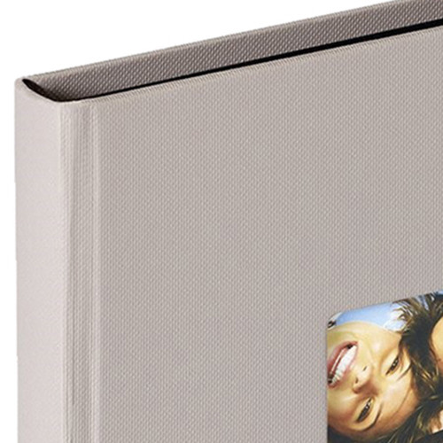 mini album photo traditionnel Fun pn gris taupe 30 photos 10x15