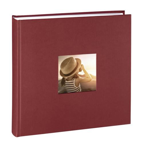 Album traditionnel Fine Art bordeaux pour 400 photos 10x15