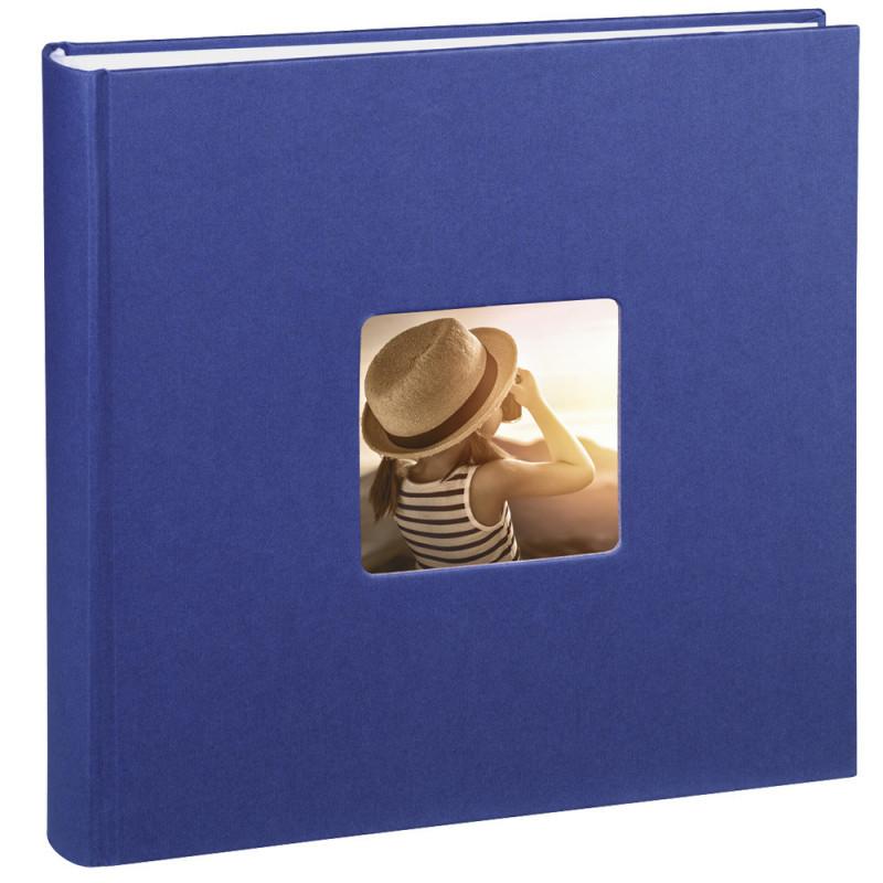 Album traditionnel Fine Art Bleu pour 400 photos 10x15