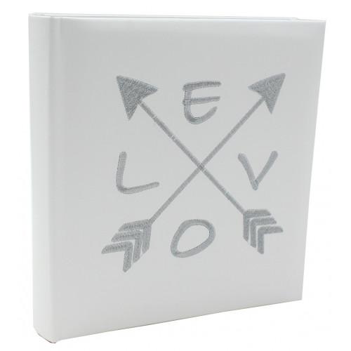 album photo Love blanc 200 pochettes 13x18