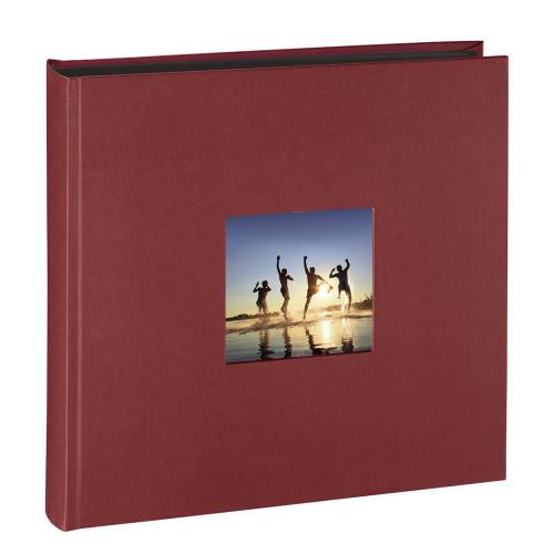 Album traditionnel Fine Art PN bordeaux pour 400 photos 10x15