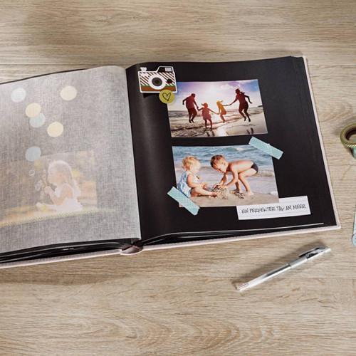 Album photo traditionnel Fun rouge PN  400 photos 10X15