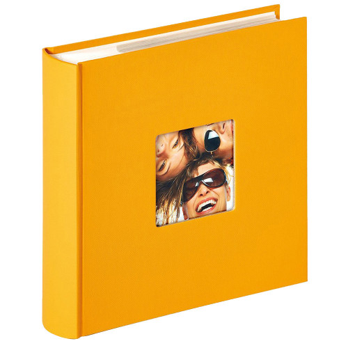 Album photo Fun jaune 200 pochettes 10x15