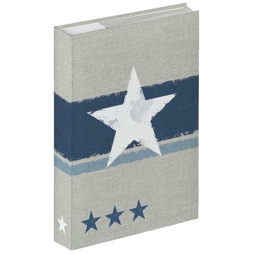 Album photo Stellar bleu 300 pochettes 10X15