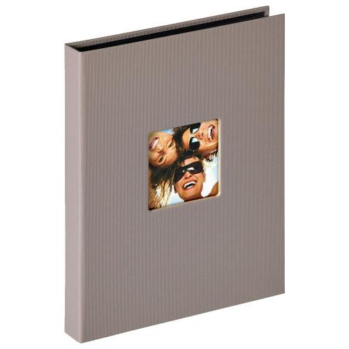 Mini album Fun taupe 24 pochettes 15x20