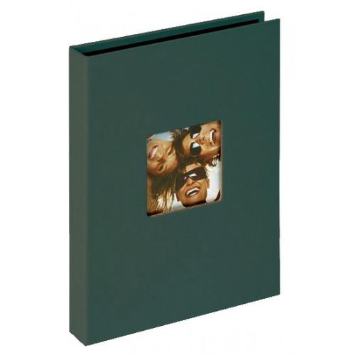 Mini album Fun vert petrole 24 pochettes 15x20