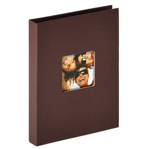 Mini album Fun marron 24 pochettes 15x20