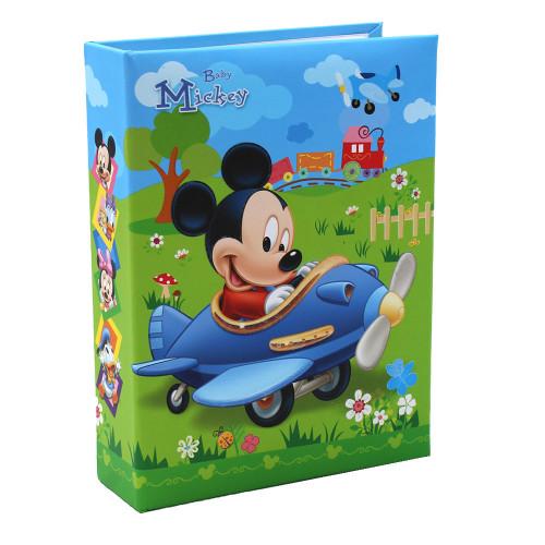 Mini album Mickey aviateur 60 pochettes 10X15