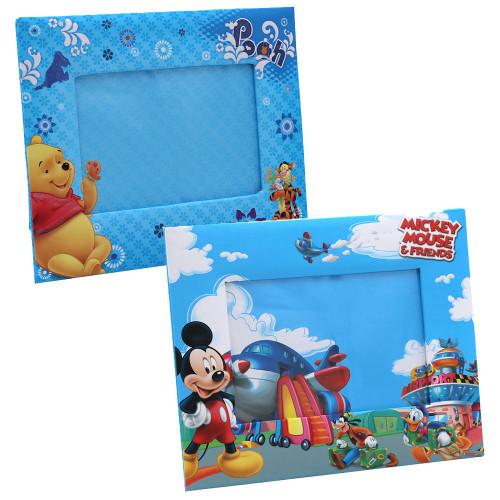 Lot de 2 cadres Mickey et Winnie 10x15 cm