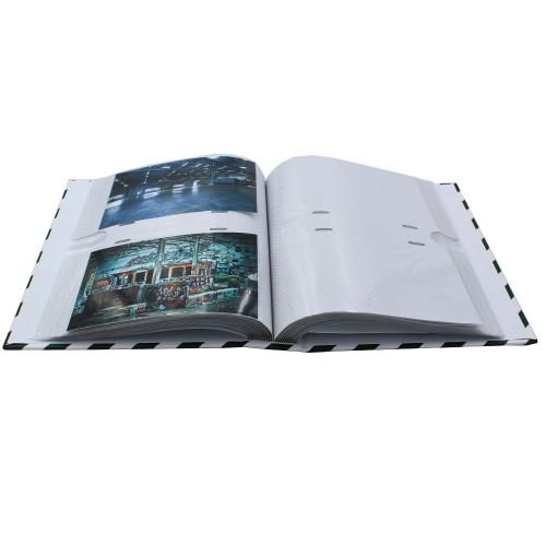 Album photo Bouquet vert 200 pochettes 10X15 - Noir