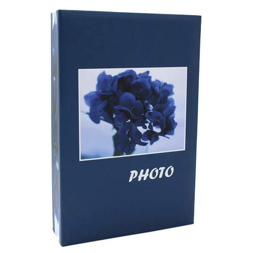 Album photo Bouquet bleu 200 pochettes 10X15 - Noir