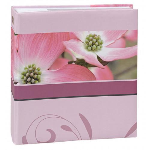Album à pochettes Blossoms rose pour 200 photos 10x15