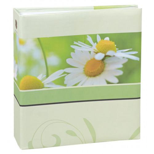 Album à pochettes Blossoms vert pour 200 photos 10x15