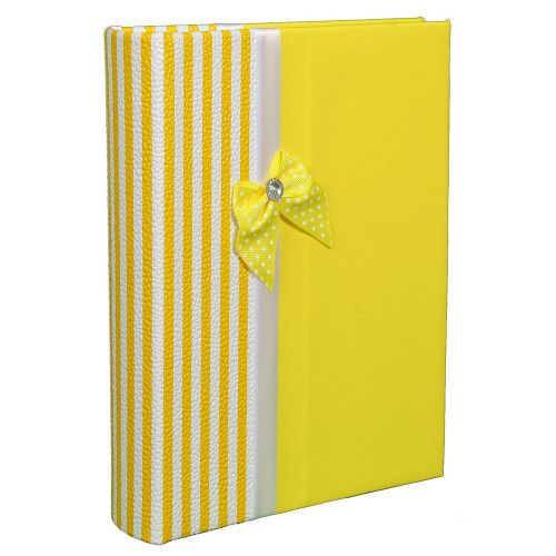Album photo Finesse jaune 200 pochettes 10X15