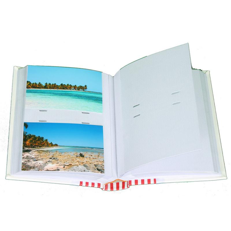 album photo Finesse brun 200 pochettes 10x15