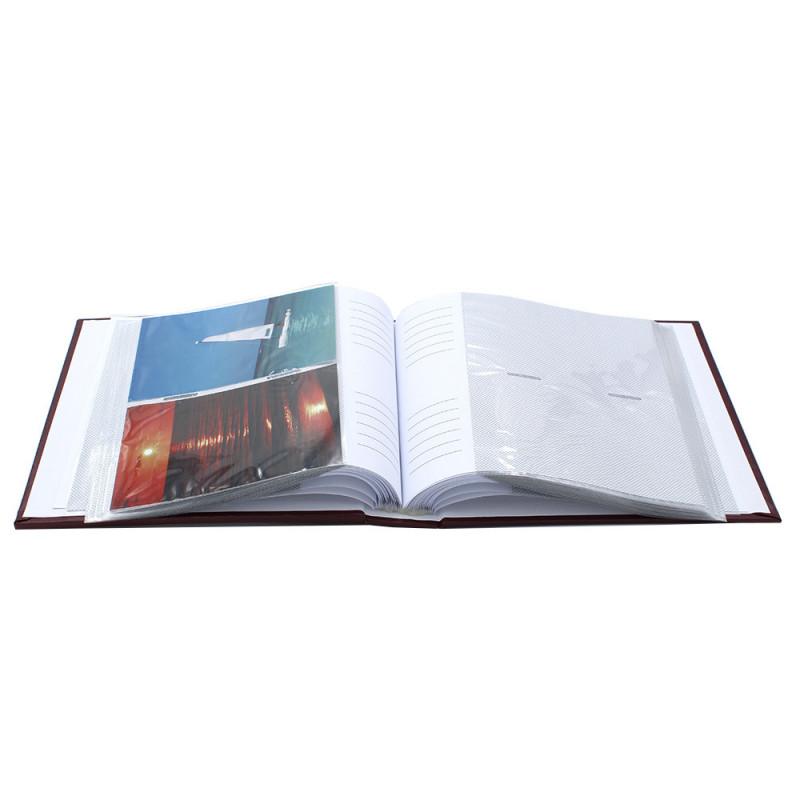 album photo Edition grenat 200 pochettes 10x15